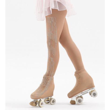 Medias Patinaje Strass Windsor